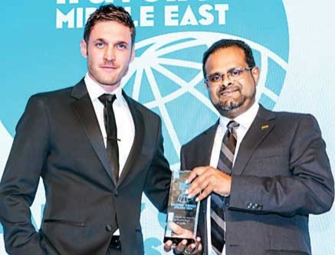 SL wins 'Best Destination off the Beaten Track' at Conde Nast Traveler Middle East Reader's Choice Awards in Dubai