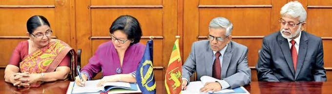 Govt, ADB sign $ 250 m boost for capital markets